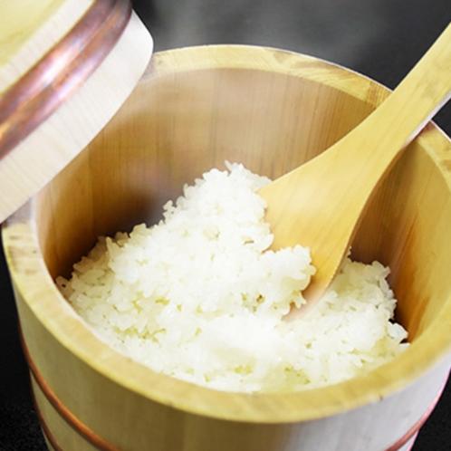 松川産のブランド米