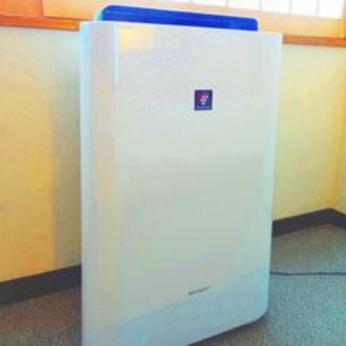 空気清浄機も設置しております