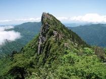 西日本最高峰石鎚山