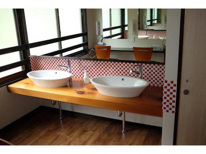ゲストハウス 洗面スペース