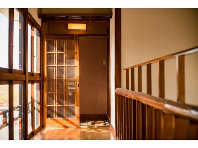 庭の棟:和室入口