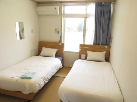 【禁煙】和室6畳ツインルーム【バス・トイレ付】