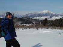 里山スキー〜私がご案内
