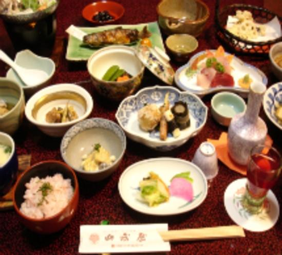 料理〜夕食の一例です