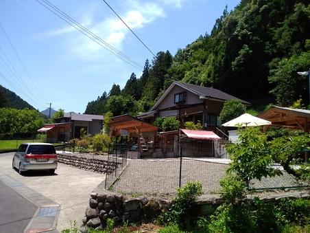 貸別荘タイプ(ドックラン・BBQスペース)受付2号館
