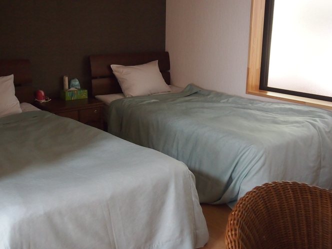 2号館大広間のベッドルーム