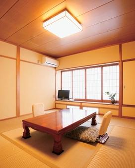 竹タイプ禁煙:ウォシュレット付8畳和室