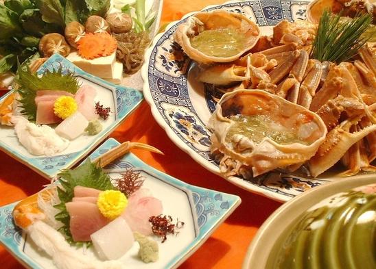 リーズナブルに生ズワイガニ1杯をお部屋で食べよう!蟹すきプラン