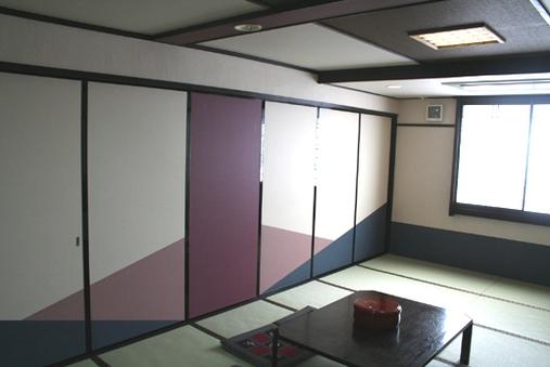 和室で♪大部屋間仕切りプラン1〜5名様