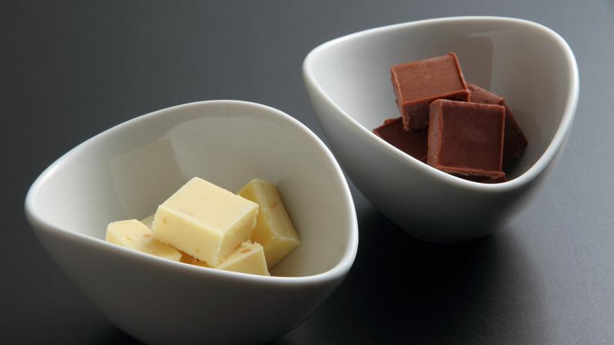 *白みそ生チョコレート