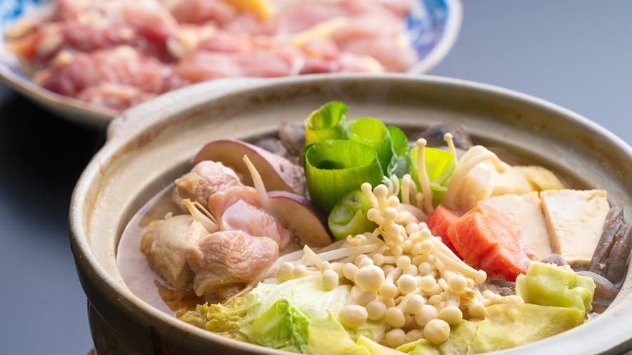 *【味噌鍋】一番人気の元祖味噌鍋!3種類の味噌をブレンドした訪れる度に味が変わる味噌鍋です。