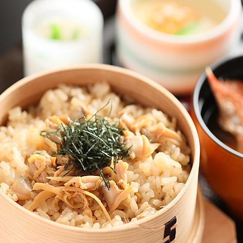 木更津産アサリ飯わっぱ