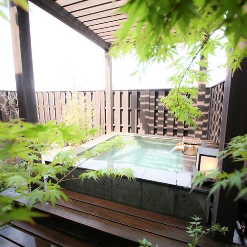 露天風呂付き客室【蔵心】露天