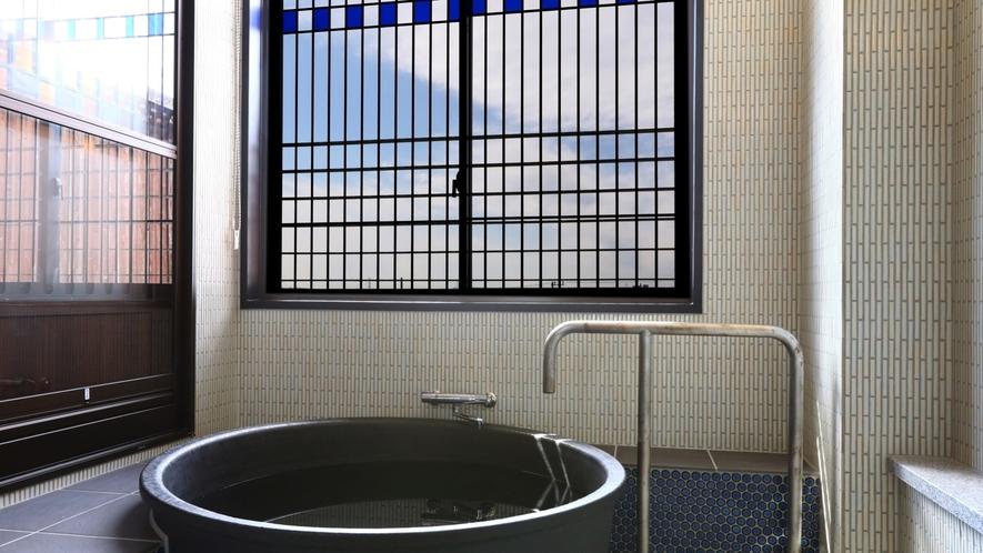 半露天風呂付客室ノスタルジック一例
