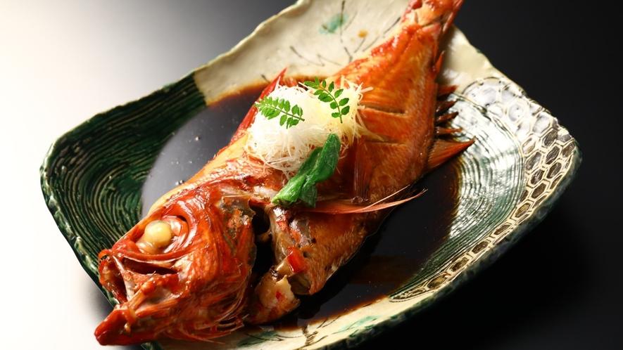金目鯛の煮付け一例