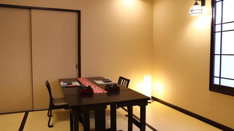 個室食事処一例