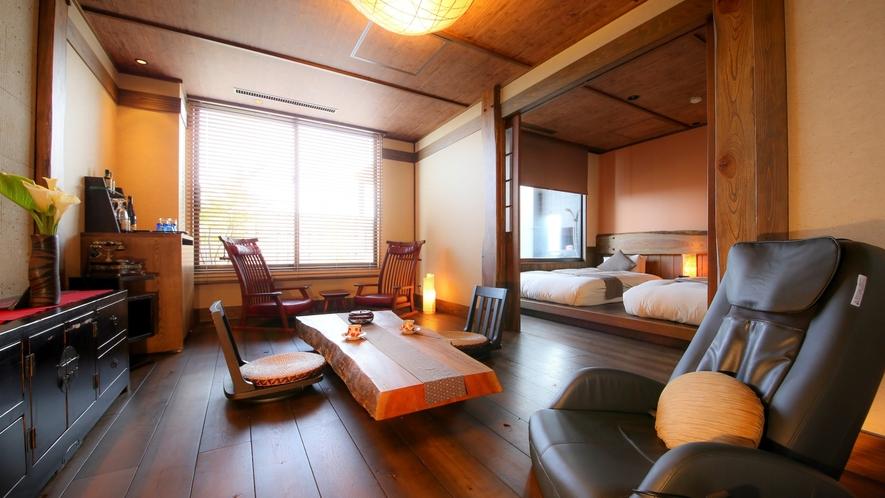 露天風呂付き客室【蔵心】一例
