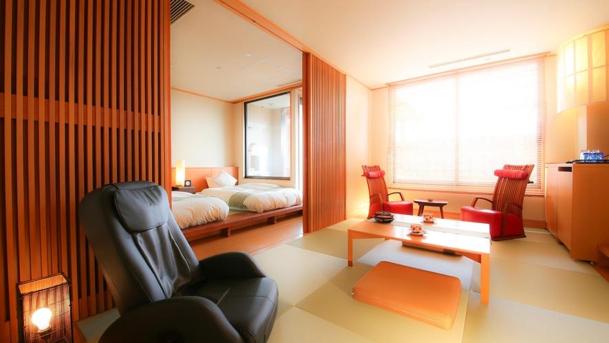 露天風呂付き客室【和心】一例