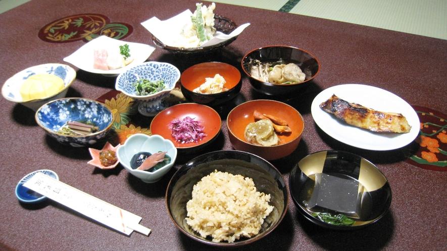 *【精進料理例】ヘルシーなお食事をぜひ一度ご賞味下さい。