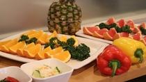 栄養満点のフルーツ