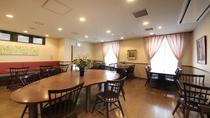 1階レストラン「マイエ」にてちょっぴり優雅なモーニングタイムを