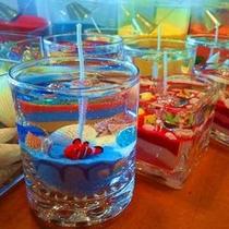 【体験メニュー】ジェルキャンドル作り〜グラスの中にオリジナルな空間を演出しよう〜