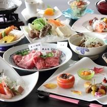 【銘肉・三種盛り】山形・蔵王の美味しいお肉「蔵王牛・米の娘豚・ラム肉」を堪能!他、芋煮や洋皿など