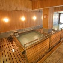 【大浴場あすなろの湯】地下水を汲み上げて作るアルカリ性の人工温泉