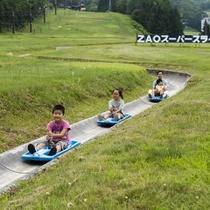 【スーパースライダー】大人も子供も楽しめる、全長650mのロングスライダー※大人520円子供370円