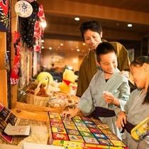 姉妹館「ルーセント」の縁日コーナー☆毎日・開催中!大人のかたも、もちろんお子様も楽しめますよ♪