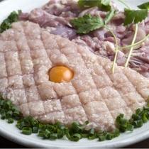 【鶏のたたき鍋】鶏肉をつくねにして醤油仕立てでお召し上がりを♪
