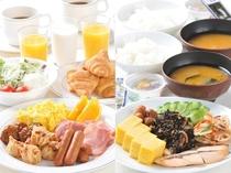 朝食バイキングNEW