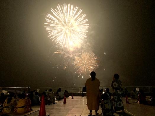 【熱海海上花火大会会場まで徒歩で約5分!】大迫力の花火を満喫!【1泊2食付きバイキング】