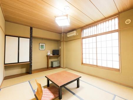 【禁煙】和室1〜5名様(トイレ付き、バス共用)(10畳)