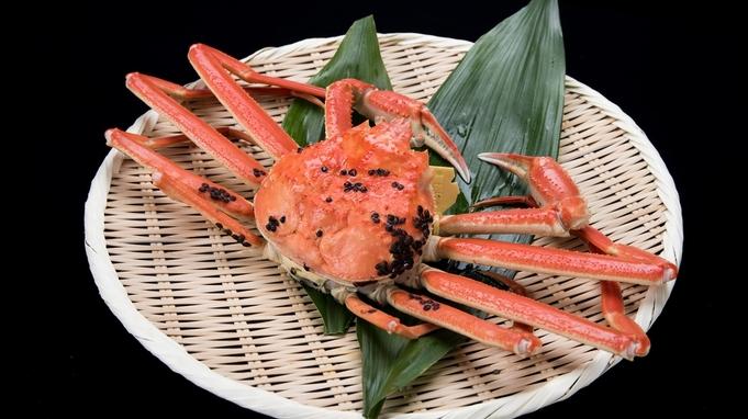 【600gコース】タグ付き越前生蟹をお1人につき600g使用!<さらに蒸し蟹を1グループに600g>