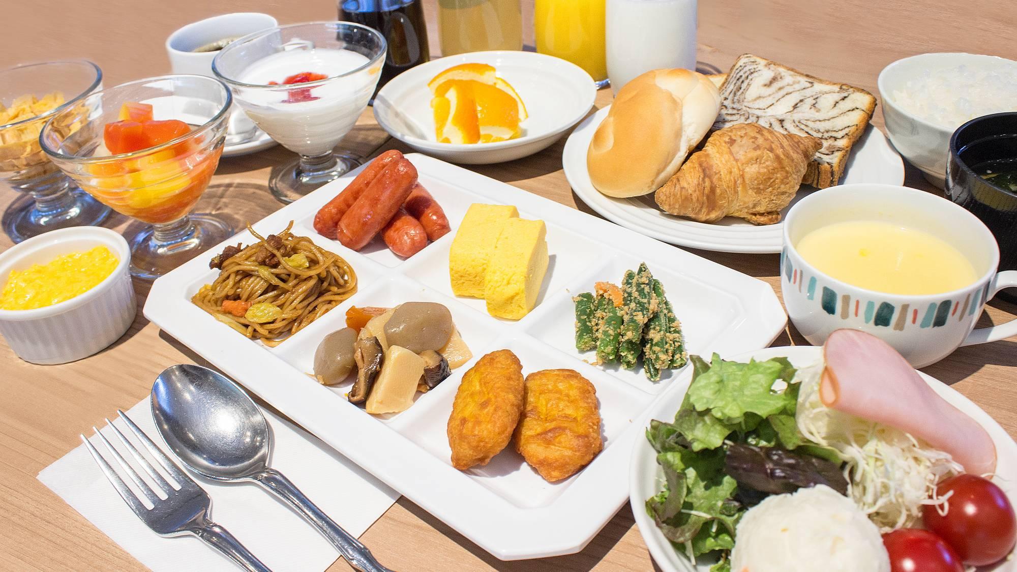 ■1Fカフェレストラン「パティオ」朝食