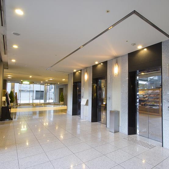 ■1F:エレベーターホール