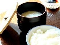 2F 京料理【濱登久】 朝食(ごはん/朝粥)