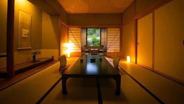 【バス付き和室(10〜12帖)-禁煙- 】‐白木館客室‐