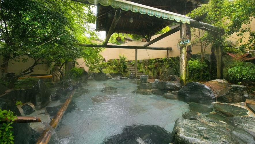 ◆湯の禅の里(露天、女湯)