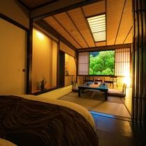◆朝霧-asagiri-/かすみ-kasumi-~展望風呂つき和モダン客室~◆