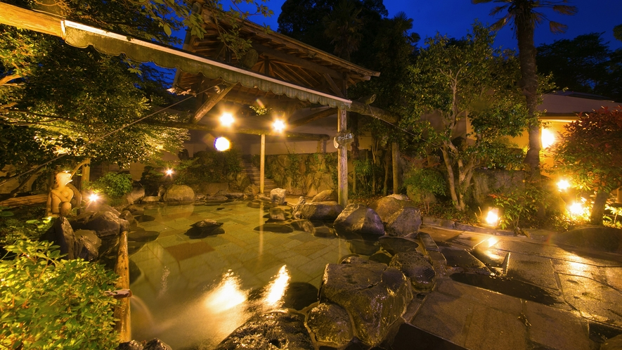 ◆湯の禅の里(露天、男湯)