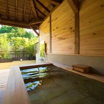 ◆山茶花‐sazanka‐ 客室露天風呂◆