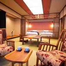 ◆2018年お部屋リニューアル露天風呂付き特別室◆‐つつじ‐