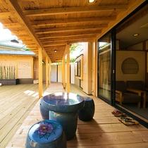 ◆つつじ‐tsutsuji‐ 客室内庭園 ◆