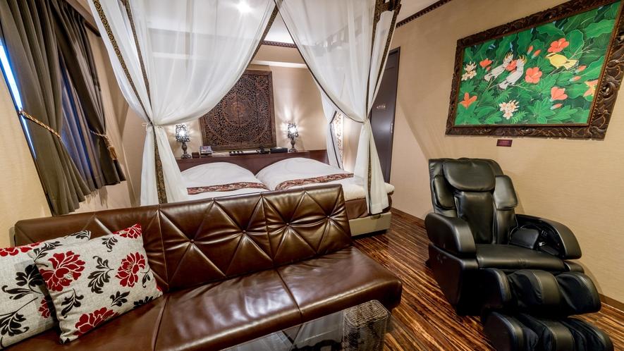 一番人気!デラックスツインルームは、ご夫婦やご家族向けに使い勝手の良いお部屋です。