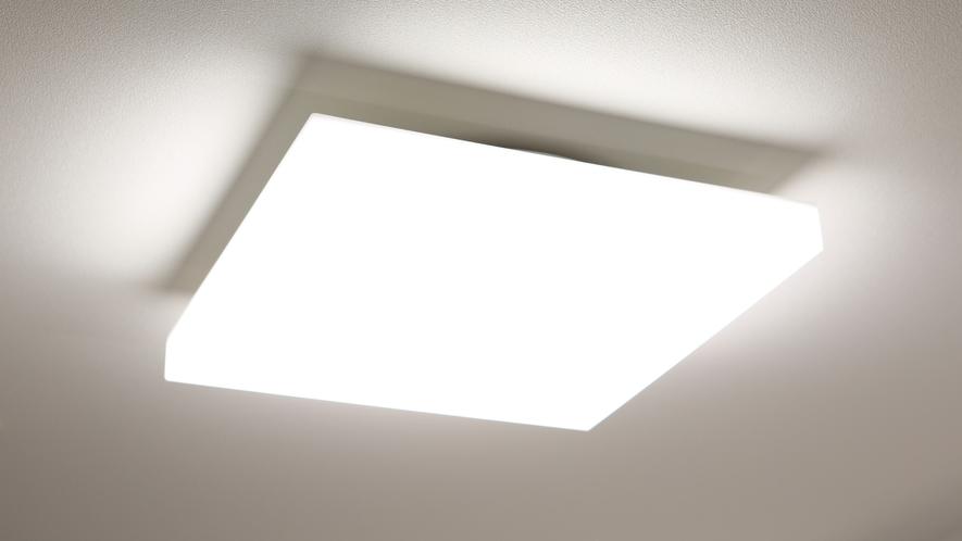 シーリングライト(一部客室に設置)