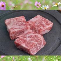 料理の一例(佐賀牛石焼き)