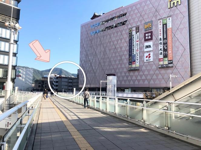 小倉駅南口からすぐ!!
