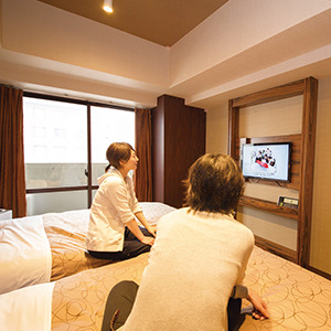【客室】女子旅でリフレッシュ♪♪客室でまったりもいいですね♪【ツインルーム】